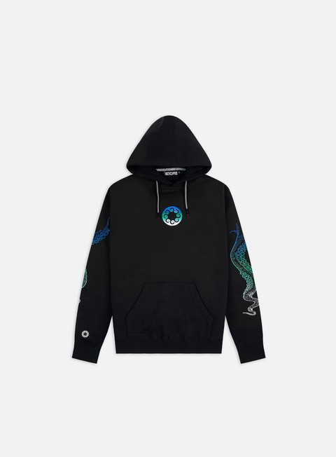 Octopus Embroidered Logo Hoodie
