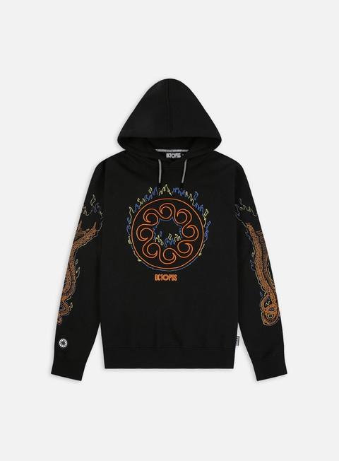 Hooded Sweatshirts Octopus More Fire Logo Hoodie