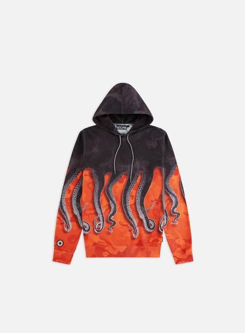Outlet e Saldi Felpe con Cappuccio Octopus Octopus Camo Hoodie