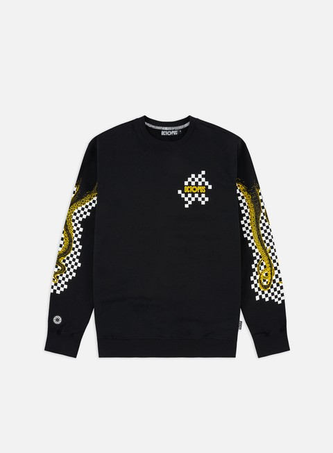 Felpe Girocollo Octopus Octopus Checkered Logo Crewneck