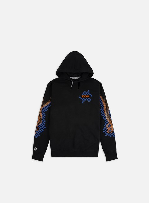 Octopus Octopus Checkered Logo Hoodie