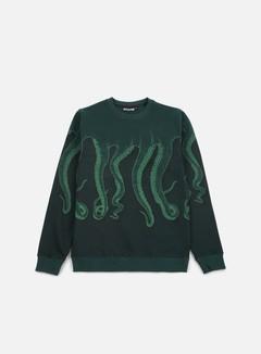 Octopus - Octopus CNC Crewneck, Green/Green Black