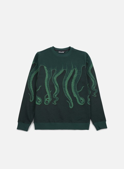 Sale Outlet Crewneck Sweatshirts Octopus Octopus CNC Crewneck