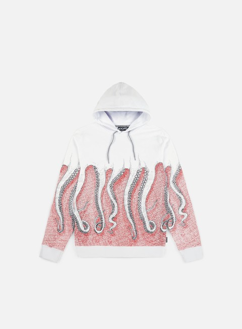felpe octopus octopus cnc hoodie black red white