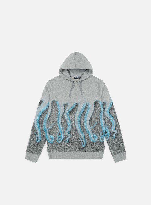 felpe octopus octopus cnc hoodie cyan black light grey