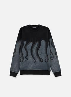 Octopus - Octopus Crewneck, Black/Marble