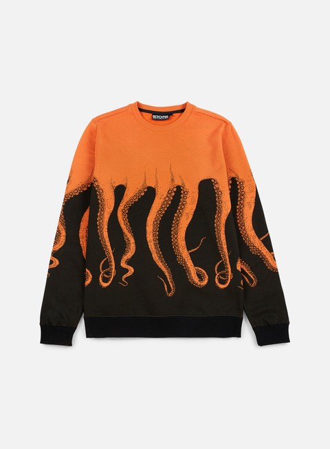 felpe octopus octopus crewneck orange old
