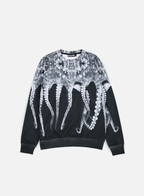 felpe octopus octopus crewneck poly black