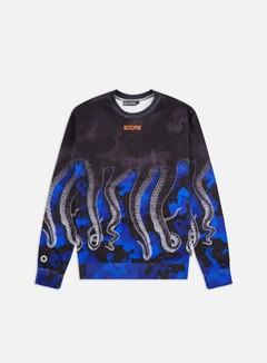 Felpa Octopus Bianca Nera | Consegna in 1 giorno su Graffitishop