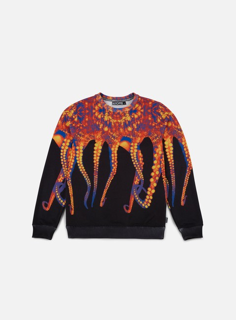 Sale Outlet Crewneck Sweatshirts Octopus Octopus Crewneck Poly