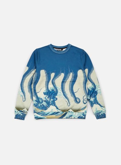 felpe octopus octopus crewneck poly okusai