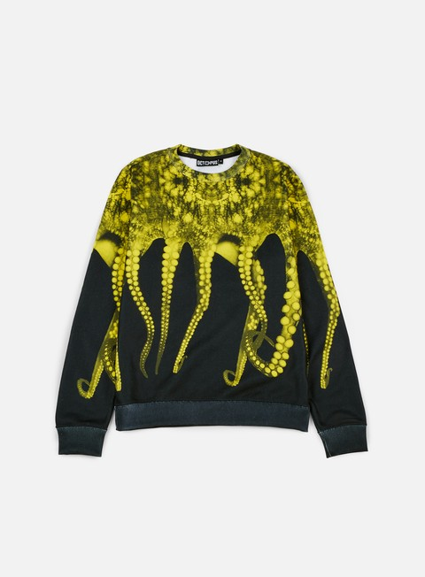 felpe octopus octopus crewneck poly realyellow