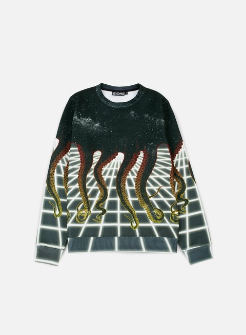 felpe octopus octopus crewneck poly spacegrid