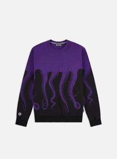 Octopus - Octopus Crewneck, Purple