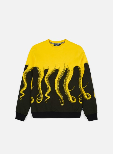 felpe octopus octopus crewneck yellow