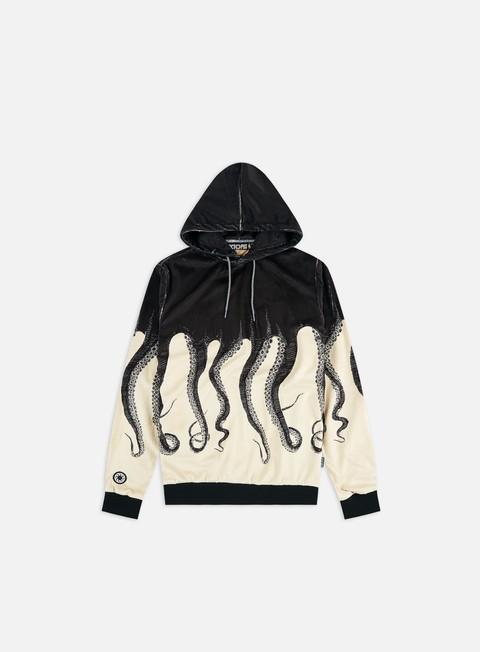 Hooded Sweatshirts Octopus Octopus Fur Hoodie