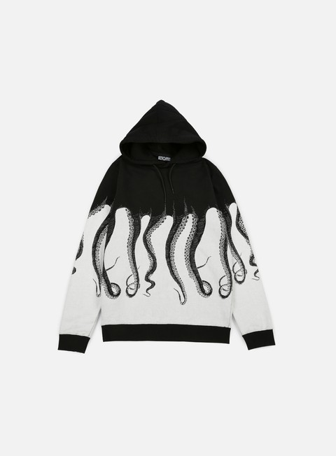 felpe octopus octopus hoodie black