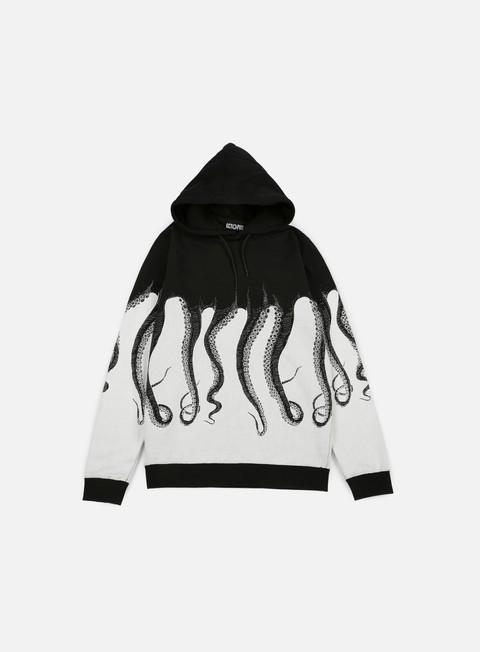 felpe octopus octopus hoodie black