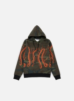 Octopus - Octopus Hoodie, Camo/Orange Out 1