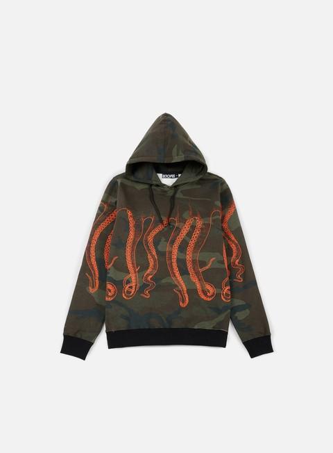 felpe octopus octopus hoodie camo orange out