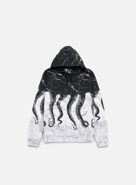 felpe octopus octopus hoodie carrara