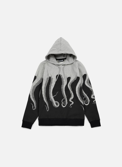 felpe octopus octopus hoodie heather grey