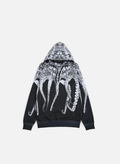 felpe octopus octopus hoodie poly black