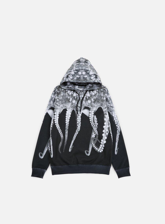 Octopus - Octopus Hoodie Poly, Black