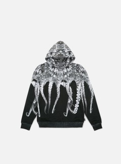 Octopus - Octopus Hoodie Poly, Grey/Black Strings