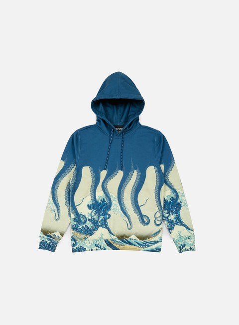 Felpe con Cappuccio Octopus Octopus Hoodie Poly