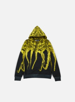 Octopus - Octopus Hoodie Poly, Realyellow