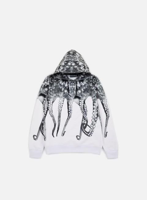 felpe octopus octopus hoodie poly white