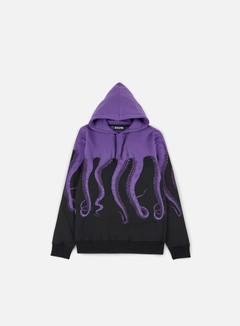 Octopus - Octopus Hoodie, Purple