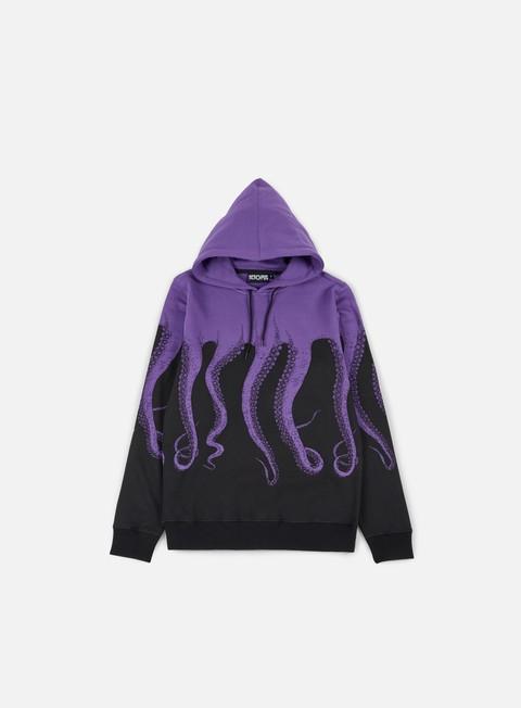 felpe octopus octopus hoodie purple