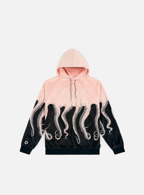 felpe octopus octopus teddybear hoodie black pink