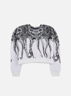 Octopus - WMNS Octopus Crewneck Poly, White 1