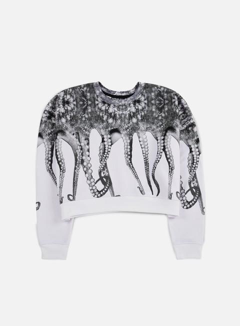 felpe octopus wmns octopus crewneck poly white