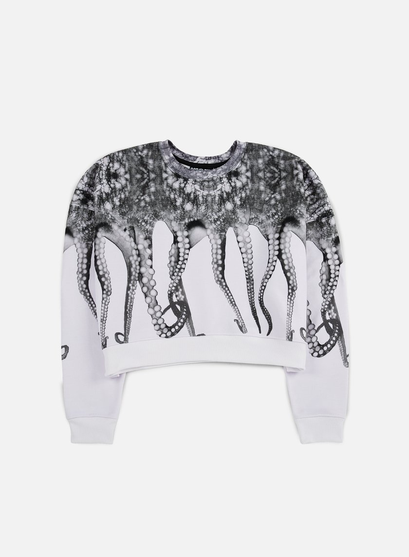 Octopus - WMNS Octopus Crewneck Poly, White