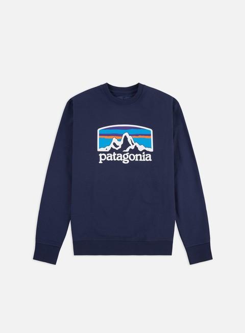 Felpe Logo Patagonia Fitz Roy Horizons Uprisal Crewneck