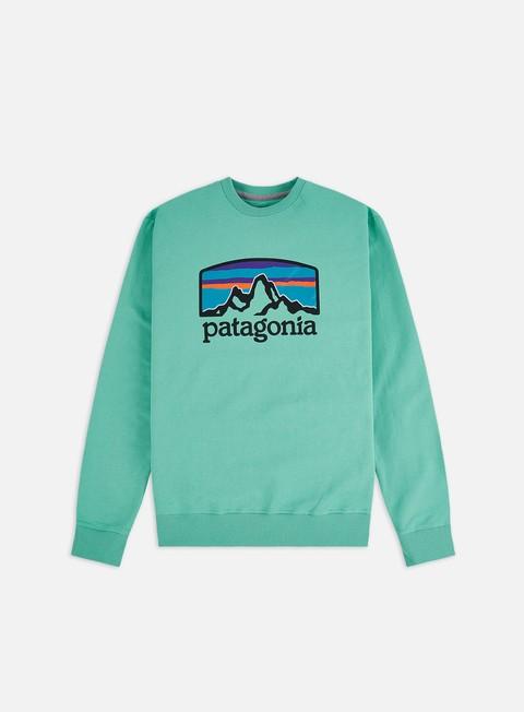 Outlet e Saldi Felpe Girocollo Patagonia Fitz Roy Horizons Uprisal Crewneck