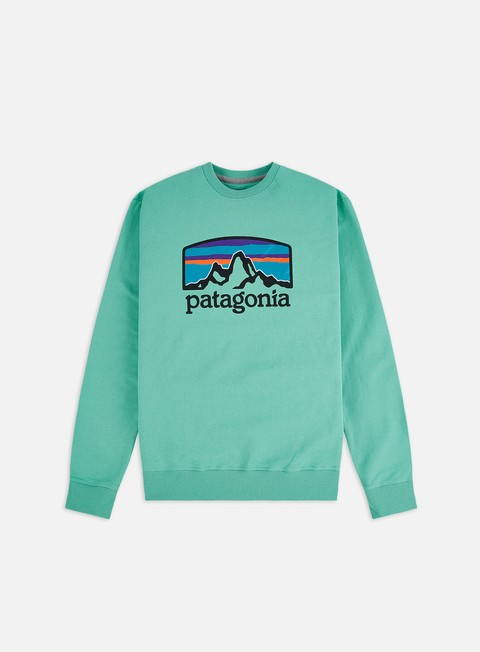 Sale Outlet Crewneck Sweatshirts Patagonia Fitz Roy Horizons Uprisal Crewneck