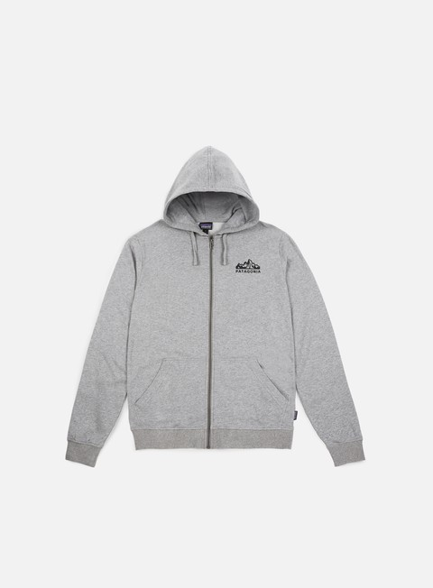 felpe patagonia fitz roy scope zip hoody feather grey