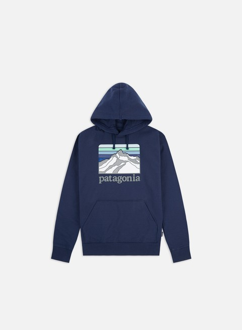 Sale Outlet Hooded Sweatshirts Patagonia Line Logo Ridge Uprisal Hoodie