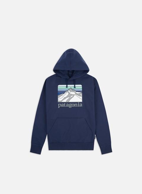 Outlet e Saldi Felpe con Cappuccio Patagonia Line Logo Ridge Uprisal Hoodie