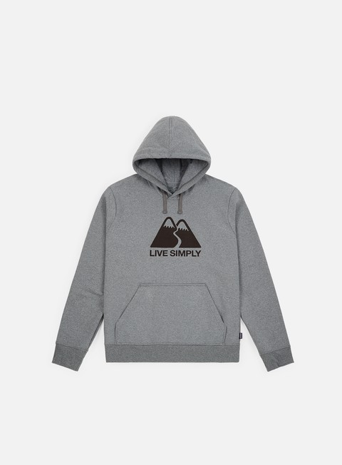 Outlet e Saldi Hoodie Patagonia Live Simply Winding Uprisal Hoodie