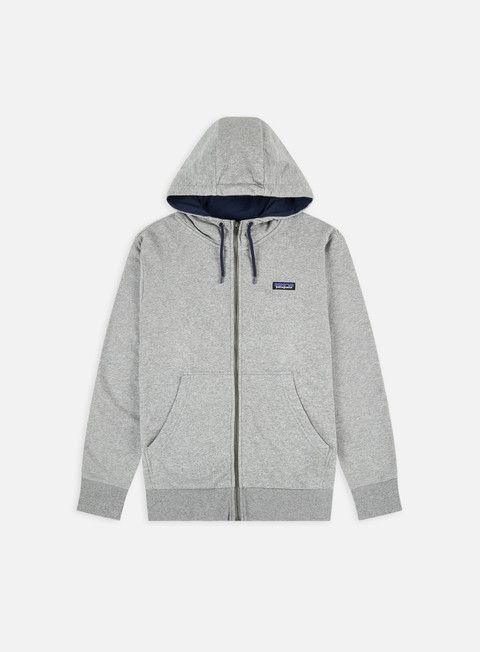 Felpe con Cappuccio Patagonia P-6 Label French Terry Full-Zip Hoodie
