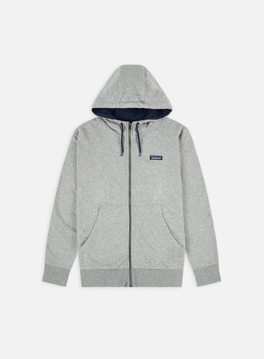 Patagonia P-6 Label French Terry Full-Zip Hoodie