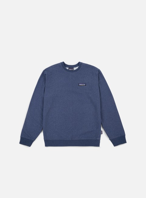 felpe patagonia p 6 label midweight crewneck classic navy