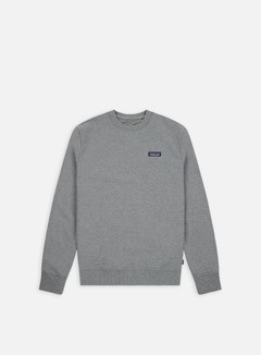 Patagonia - P-6 Logo Uprisal Crewneck, Gravel Heather