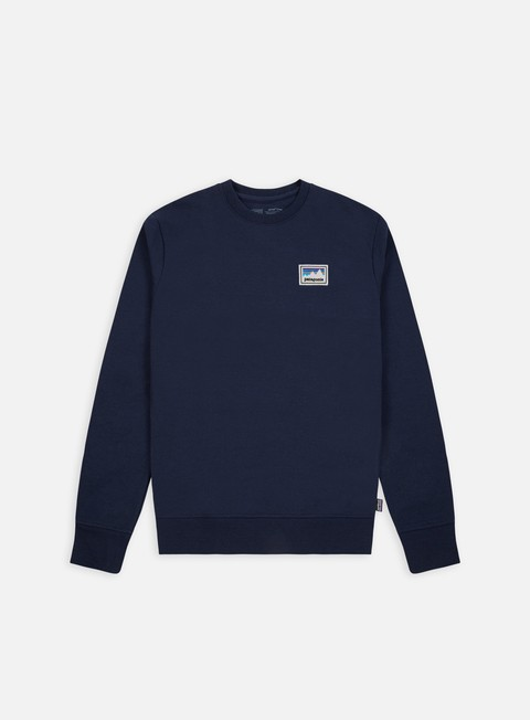 Felpe Girocollo Patagonia Shop Sticker Patch Uprisal Crewneck